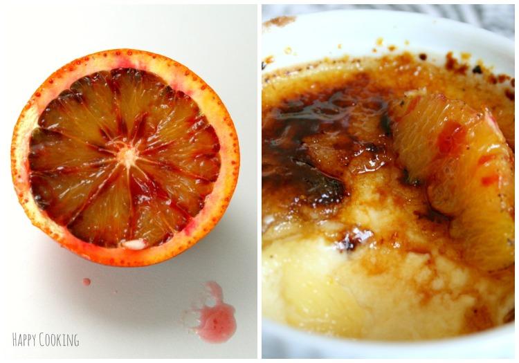 Crème brulée oranges sanguines