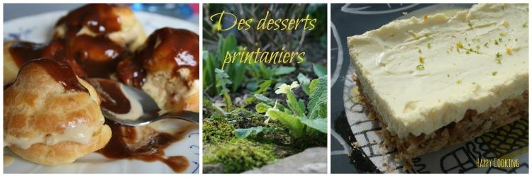 Desserts Printemps