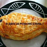10 recettes de poissons d'avril