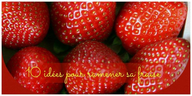 Idées de desserts aux fraises