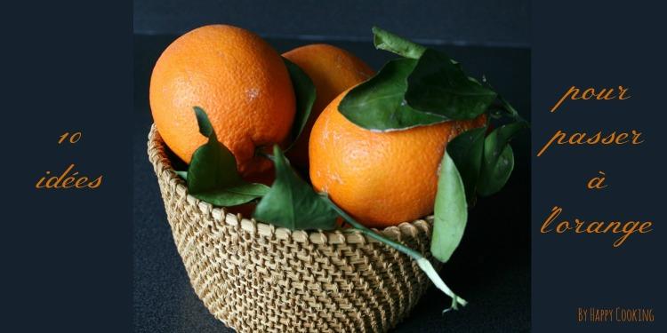 Recettes à l'orange
