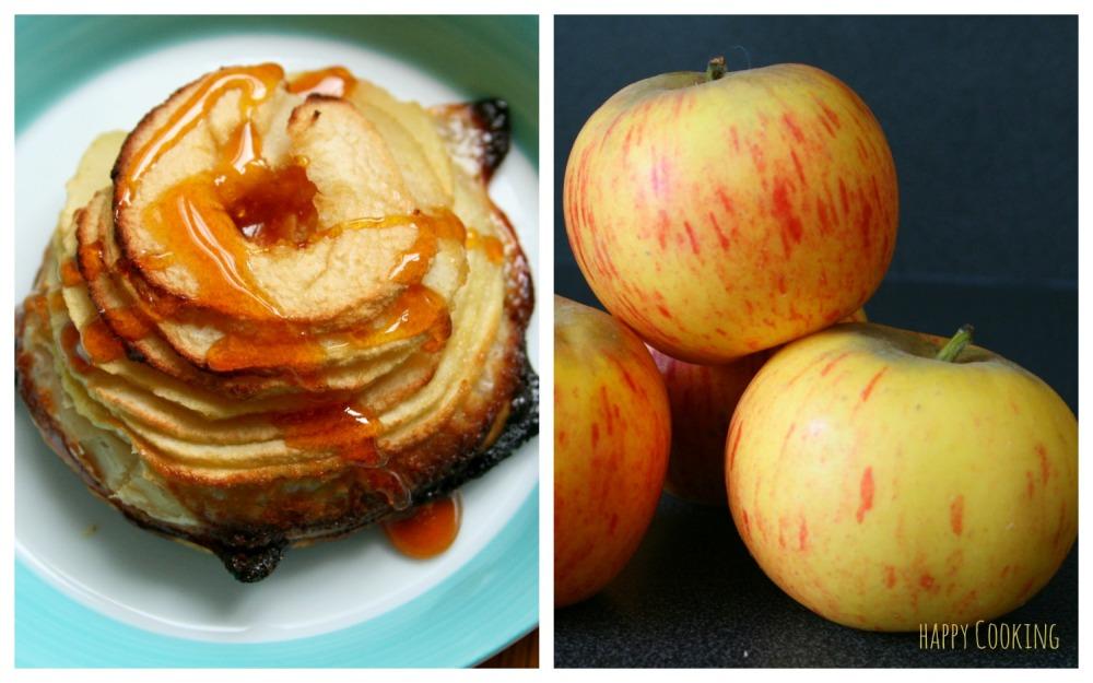 Tarte pommes crème d'amandes