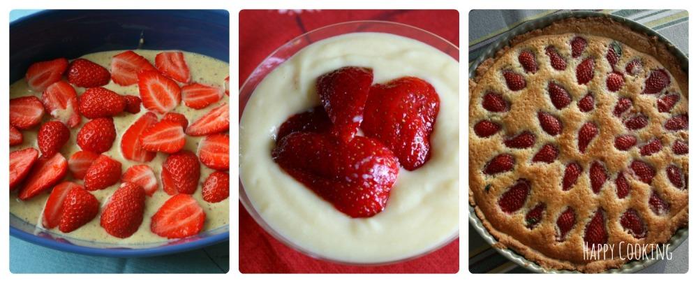 recettes pour cuisiner les fraises