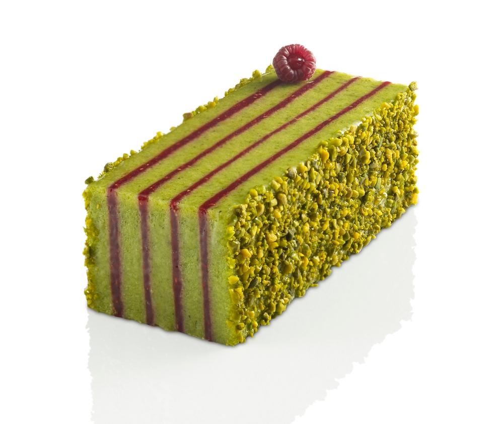 Pistache Framboise Cake Design