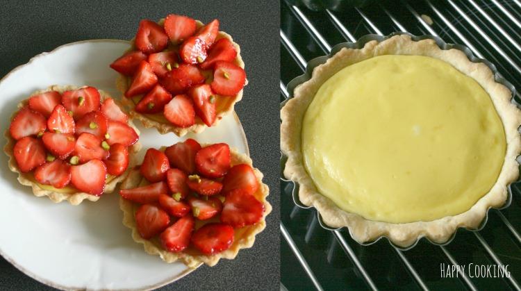 Tarte fraises petits suisse