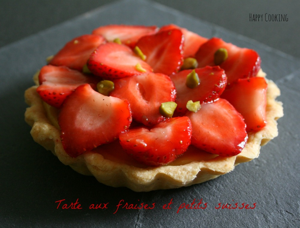 tarte fraises petits suisses