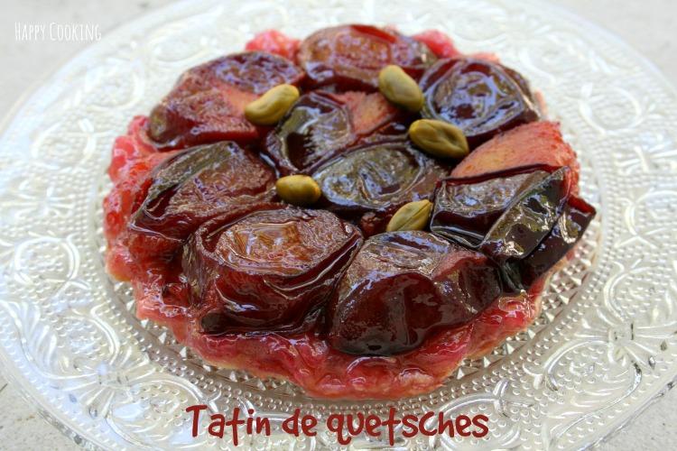 Tatin de prunes