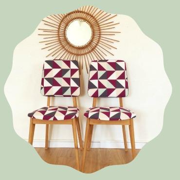 Chaise chouette fabrique