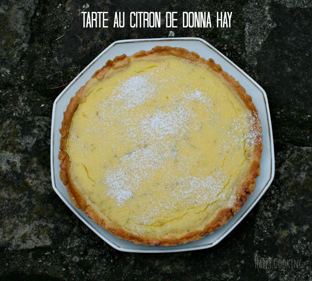 Tarte citron Donna hay