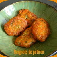 Beignets de potiron