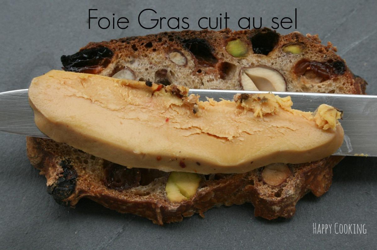 Foie gras cuit au gros sel happy cooking - Desherber au gros sel ...