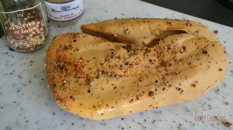 Foie gras mariné