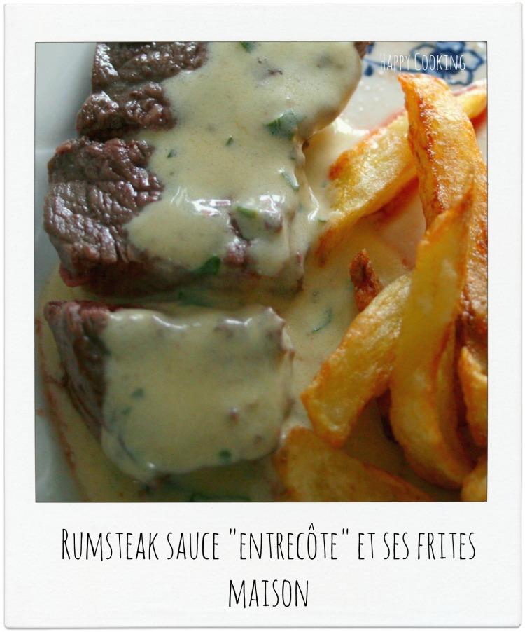 Rumsteak sauce entrecôte