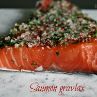 Saumon Gravlax
