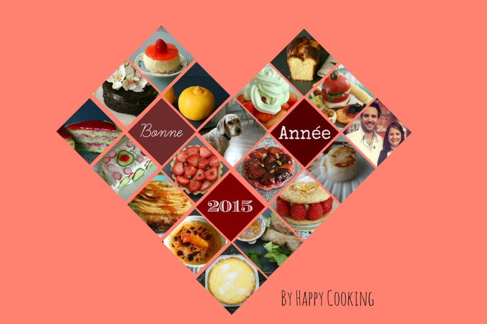 Voeux Happy Cooking 2015