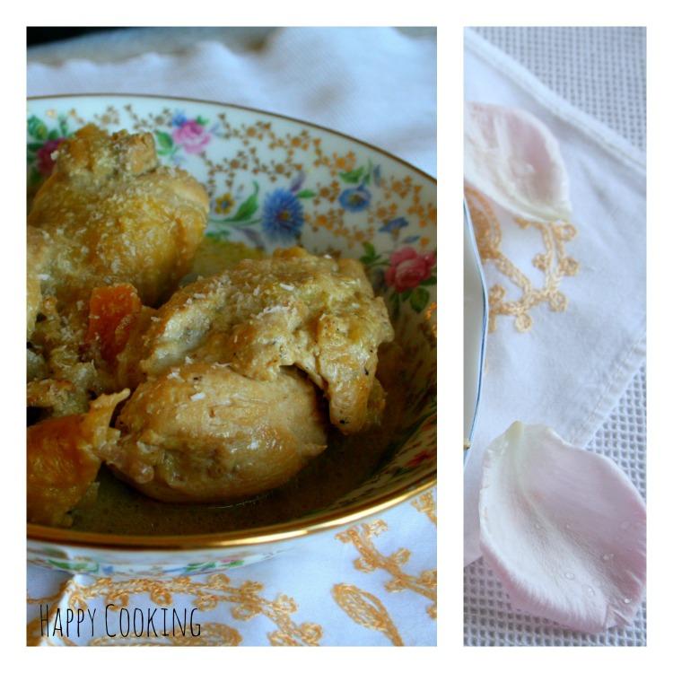 Poulet au curry madras