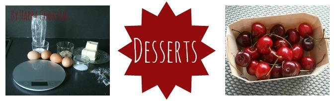 Recettes de desserts Happy Cooking