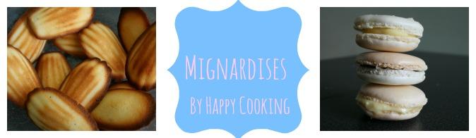 Recettes de mignardises_Happy Cooking