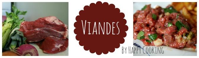 Recettes de Viandes par Happy Cooking