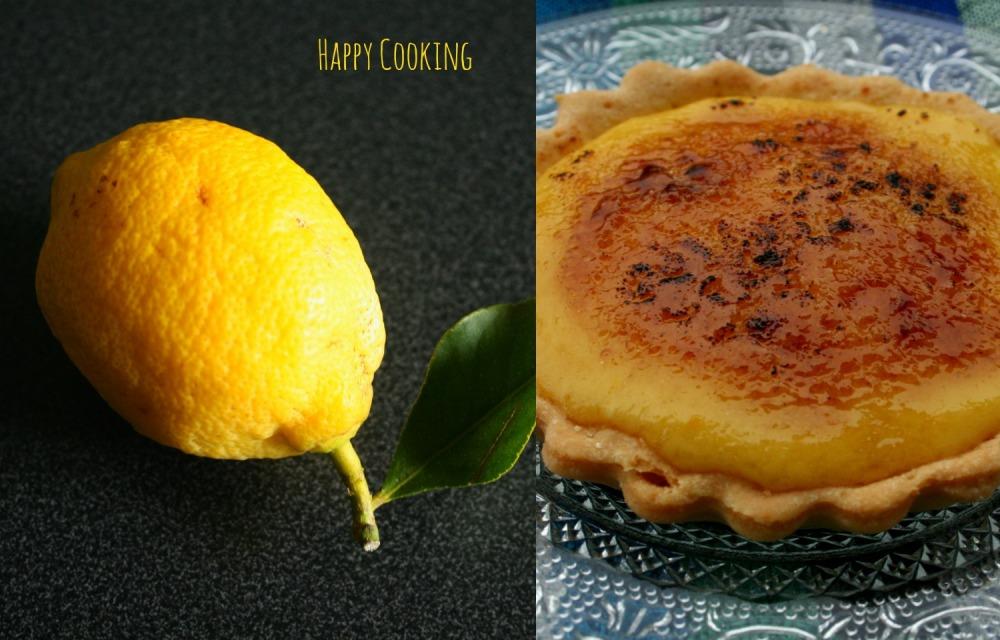 Tarte au citron_crème brulée