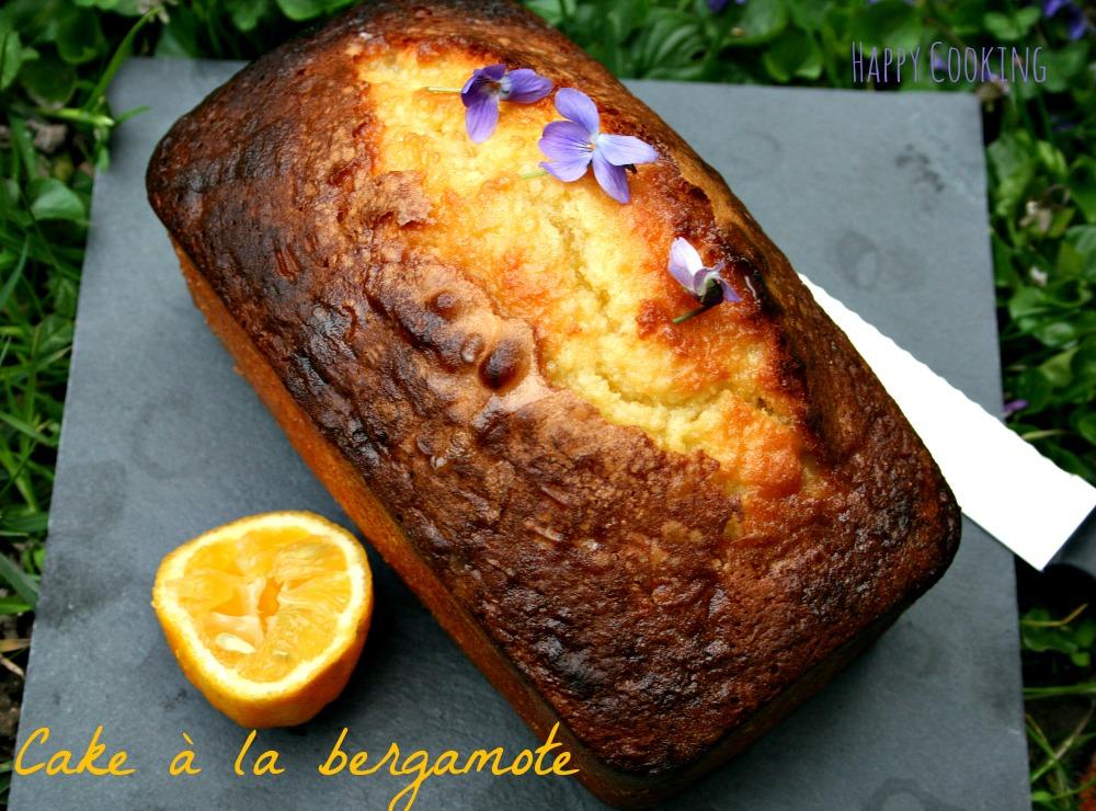 Cake bergamote