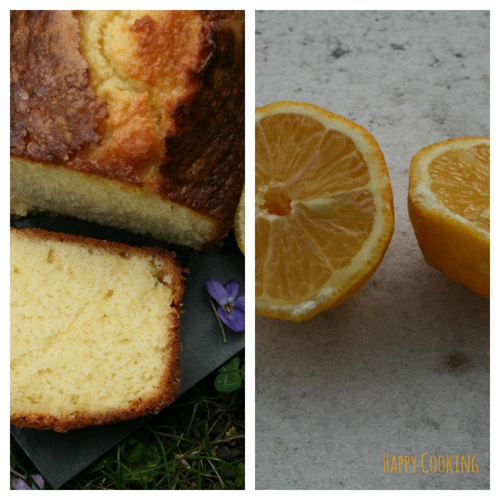 Cake glacé bergamote