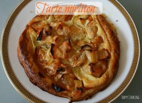 Tarte mirliton: pommes mirabellesamandes