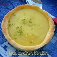Tarte acidulée au citron de Conticini