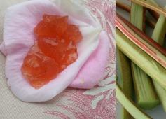 rhubarbe en gelée